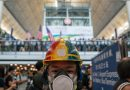 Hong Kong airport cancels flights over protest