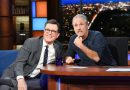 Jon Stewart asked Stephen Colbert how he found his 'Late Show' voice. The answer? Joe Biden.