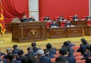 North Korea Leader Urges 'Offensive Measures' at Top Party Meeting