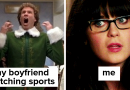 Relatable Moments If You've Dated A Sports Fan