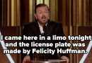 All Of Ricky Gervais' Best Jokes Of The 2020 Golden Globes