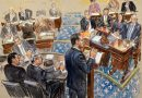 Sketch artists at the impeachment trial are capturing scenes that the cameras can't