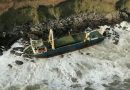 Ghost ship MV Alta washes ashore in Ireland County Cork from Bermuda