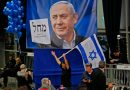 Benjamin Netanyahu holds narrow lead