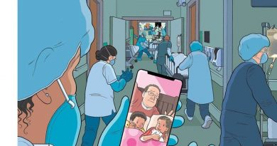 The New Yorker cover and political cartoons are saluting coronavirus responders as heroes