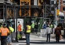 Virus Rules Let Construction Workers Keep Building Luxury Towers