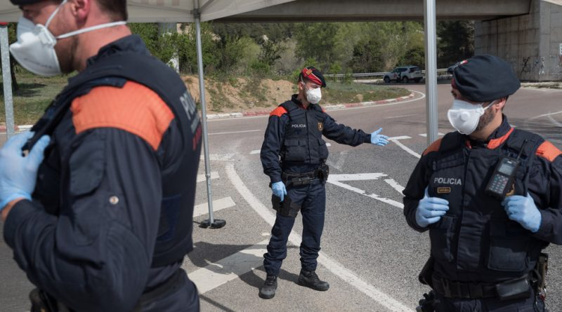 'We Are in a Cage:' Spanish Town Lives Under a Lockdown Within a Lockdown