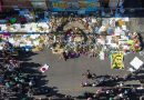 George Floyd, Black Lives Matter protests seen from the air