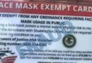 Mask Exemption Cards From the 'Freedom to Breathe Agency'? They're Fake