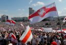 Belarus Protests Eclipse Rally in Defense of Defiant Leader