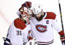 Canadiens Even Series With an Emotional Rout of the Flyers