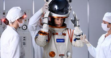 Exclusive photos from Hilary Swank's space drama