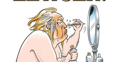 Garry Trudeau spoofs the Trump presidency by treating it as 'a hostile takeover'