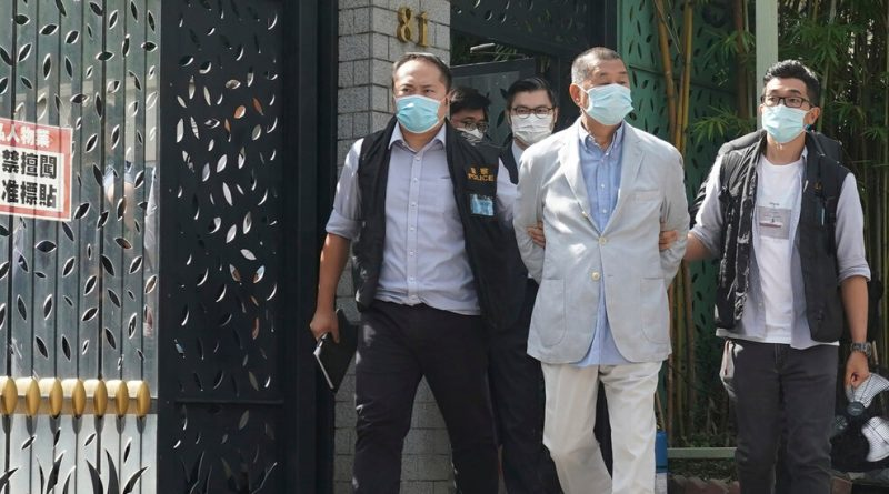 Hong Kong Publisher Jimmy Lai Is Arrested Under National Security Law