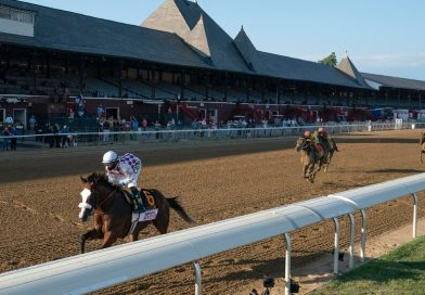 Tiz the Law Wins the Travers in a Runaway