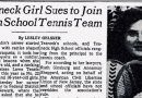 A Girl Wanted to Try Out for Boys Tennis. Ginsburg Helped Make It Happen.