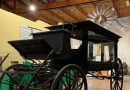 Hearse believed to have carried Old West lawman at new home