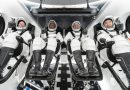 Astronauts arrive at launch site for 2nd SpaceX crew flight