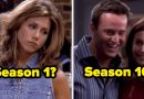 "Can You Tell If These Episodes Of ""Friends"" Are From Season 1 Or Season 10?"