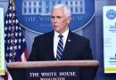Mike Pence Holds Coronavirus Briefing