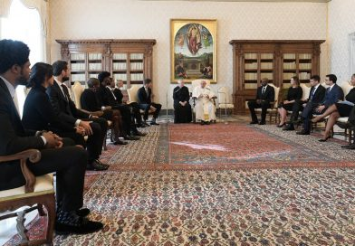 N.B.A. Players Meet With Pope Francis