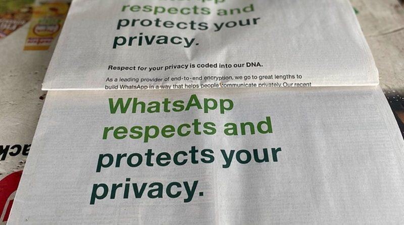 People Are Mad About Facebook's WhatsApp's Privacy Policies